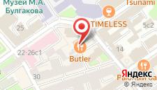 Бутик-Отель Шенонсо на карте