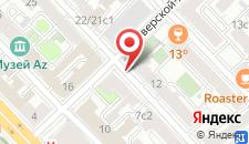 Хостел Амиго Маяковская на карте