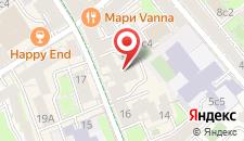 Мини-отель Горькофф на Малой Бронной на карте