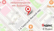 Хостел Ай да на Маяковской на карте