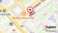 Хостел Квартира на Тверской на карте