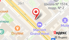 Отель Марриотт Гранд на карте