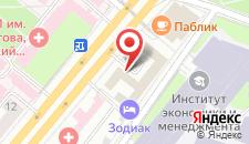 Бутик-Отель Зодиак на карте