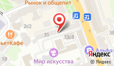 Хостел MХ Долгоруковский на карте