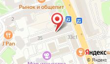 Хостел Onlyhostel на карте