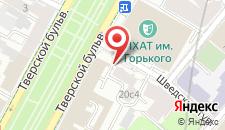 Гостевой дом Moscow Style на Тверском на карте