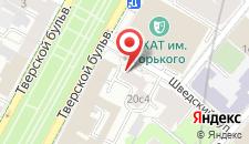 Гостевой дом Moscow Style на карте