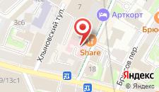 Гостиница Мери Голд Отель на карте