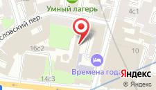 Отель Времена Года на карте