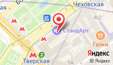 Отель СтандАрт на карте