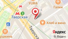 Гостевой дом Версаль на Тверской на карте