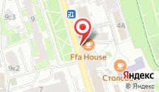 Отель Сад на карте