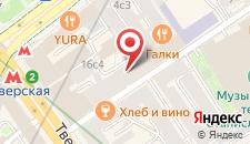 Апарт-отель Козицкий переулок 1а на карте