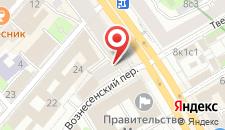 Отель На Тверской 15 на карте
