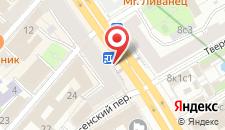 Хостел Moscow Style на карте