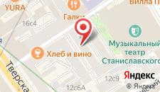 Отель Гермес на карте