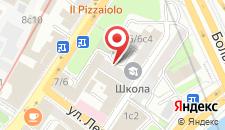 Хостел Волхонка на карте