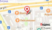 Отель Винтерфелл На Цветном Бульваре на карте