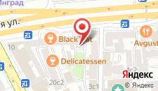 Хостел На Каретном на карте