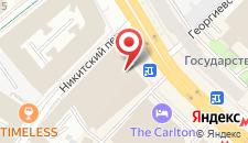 Гостиница D'отель на Тверской на карте
