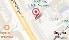 Отель Мегаполис на карте