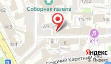 Отель Каретный двор на карте