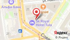 Отель SK Royal на карте