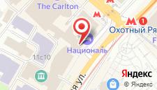 Гостиница Националь на карте
