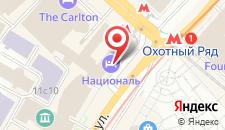 Отель Националь на карте