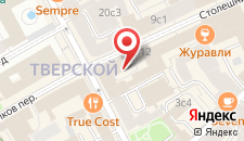 Гостиница Акварель на карте
