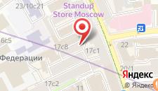 Отель Петровка 17 на карте