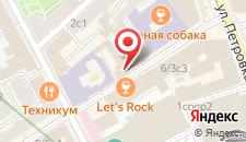 Гостиница Старый город на Кузнецком мосту на карте