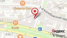 Хостел Бульварный на карте