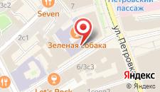 Отель на Кузнецком на карте