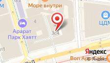 Отель Матрешка на карте