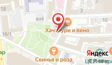 Гостиница Seven Hills на Трубной на карте