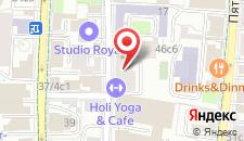 Отель Охостел на карте