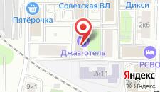 Мини-гостиница Jazz Hotel на карте