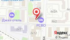Гостиница Россвязь на карте