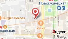 Отель Комфорт Москва на карте