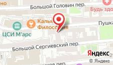 Мини-отель на Пушкарева 16 на карте