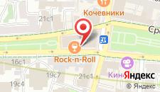 Гостиница Бульвар-Сретенка на карте