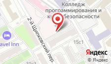 Хостел На Щиповском на карте