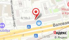 Хостел Only на Павелецкой на карте