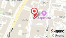 Апарт-отель Наумов на Лубянке на карте