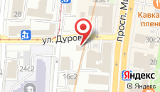Бутик-Отель МИРА на карте