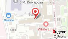 Хостелы Рус - Проспект Мира на карте