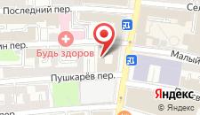 Гостиница Сретенская на карте