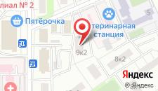 Хостел ВДНХ на карте
