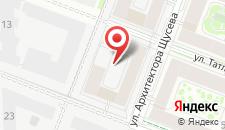Отель Галерея Вояж на карте